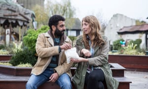 Daisy Haggard with Adeel Akhtar in Back to Life.