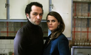 Happy families: Matthew Rhys and Keri Russell in The Americans