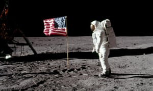 Buzz Aldrin on the moon 20 July 20, 1969. Boris Johnson thinks the Apollo space mission has some lessons for Brexit.