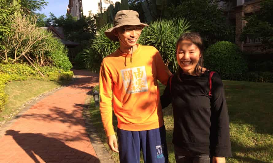 Ji Feng and his wife, Liu Bing, moved to Jinghong to escape Beijing's pollution and its people.