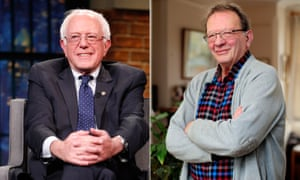 'Our similarities in terms of policies are astonishing,' says Larry of his and Bernie's political outlooks.