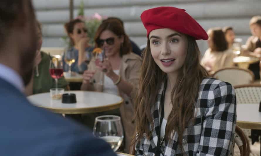 Lily Collins in Emily In Paris, which was nominated for the awards.