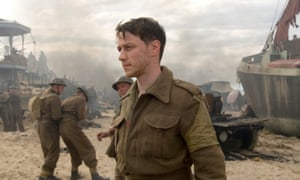 James McAvoy in the film adaptation of Atonement.