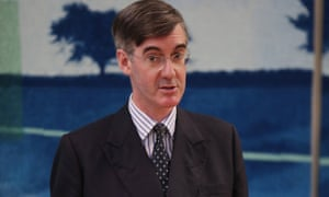 Jacob Rees-Mogg leader of European Research group of Tory MPs