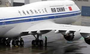 An Air China aircraft