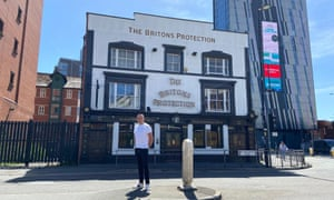 The Briton's Protection pub in Manchester city centre had to close its doors two months ago