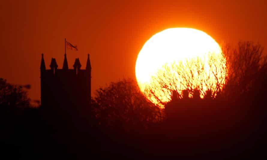 St Albans Church in Earsdon, North Tyneside
