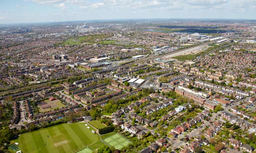 Aerial view of Brent
