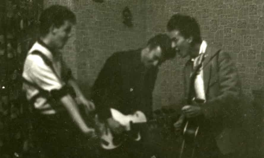 Those were the days: Paul McCartney, John Lennon and George Harrison.