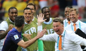 Louis van Gaal took Holland to the semi-finals of last year's World Cup, his team beating Spain 5-1 in the group stage.