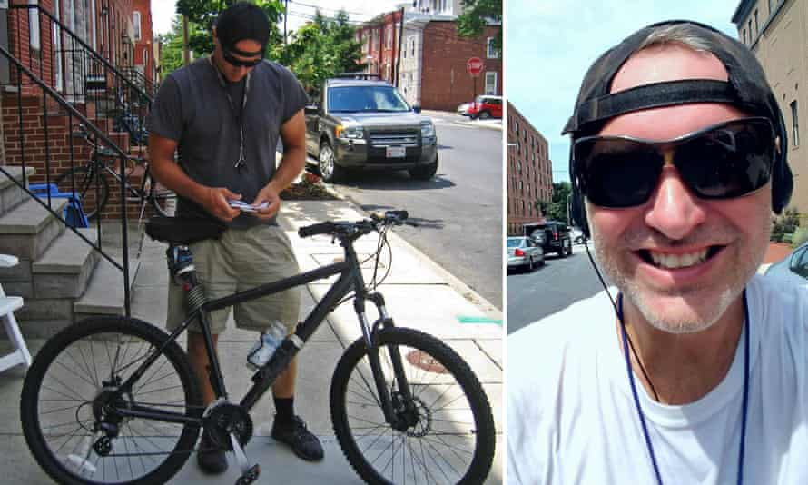 Michael Wallace aka WallyGPX heads out on his bike to create another piece of GPS art.