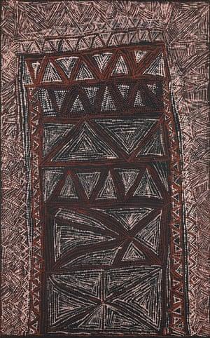 Jilamara design (2013) by Cornelia Tipuamantumirri
