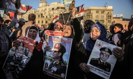 Pro-Sisi rallies in Egypt