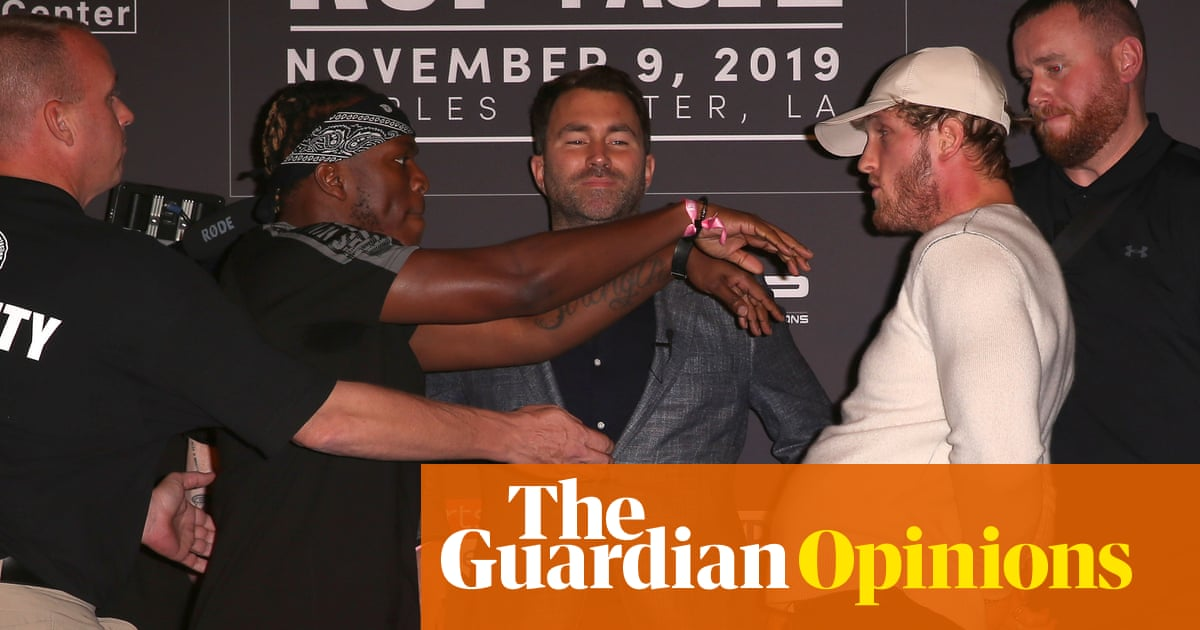 KSI v Logan Paul may be proof we're in the dumbest timeline, but it's good business | Bryan Armen Graham