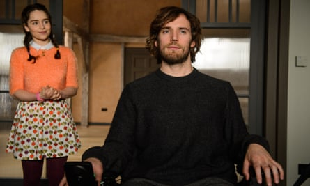 'It has big themes that are easy to make quick judgment on' … Emilia Clarke and Sam Calflin in Me Before You