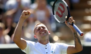 Dan Evans will face João Sousa in the third round after beating the No 18 seed Nikoloz Basilashvili on Thursday.