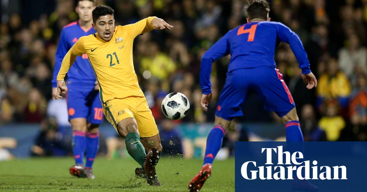 f4b385254 Composed and confident Socceroos light years ahead of Norway shambles