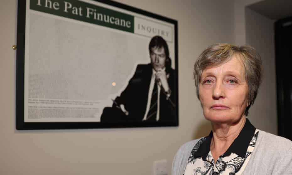 Geraldine Finucane, the widow of solicitor Pat Finucane