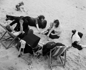 Sunday afternoon, Whitley Bay, Tyneside, 1977