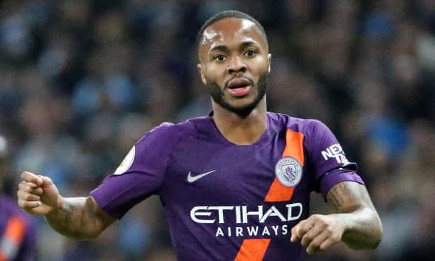 Raheem Sterling set up Manchester City's winning goal at Tottenham on Monday.