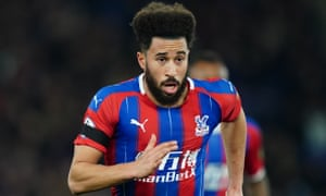 Andros Townsend in action for Crystal Palace against Bournemouth this week.