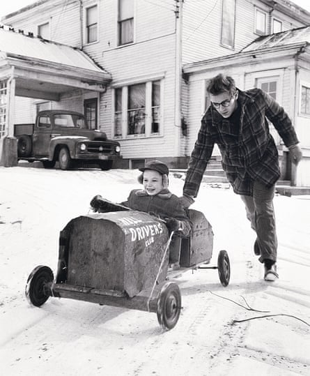 James Dean with his cousin Marcus
