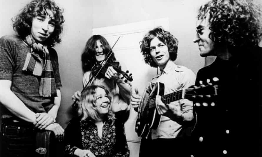 Fairport Convention in 1969.