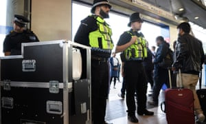 BTP oversee an operational trial of the Thruvision camera system at Stratford station