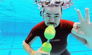 The innovators: the lightweight tank that turns snorkellers