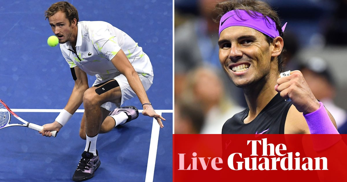 Daniil Medvedev v Rafael Nadal: US Open mens final – live!