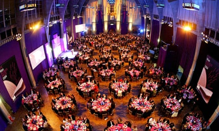 The 2004 Man Booker prize ceremony, the year the award was won by Alan Hollinghurst's The Line of Beauty.