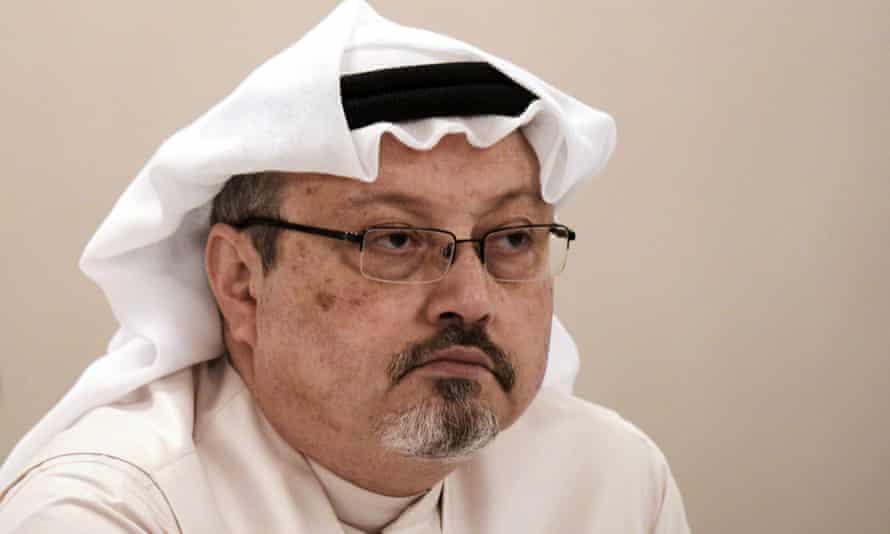 Jamal Khashoggi in 2014