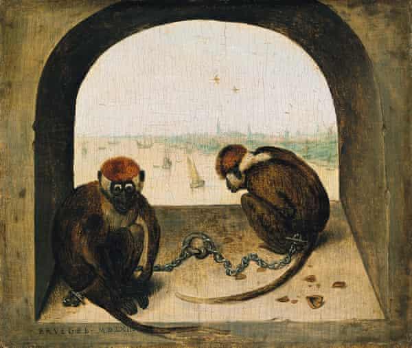 Two Monkeys, 1562.