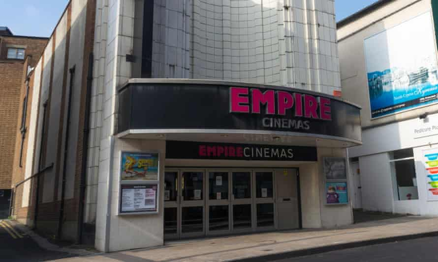 An Empire cinema location in Bromley, south London