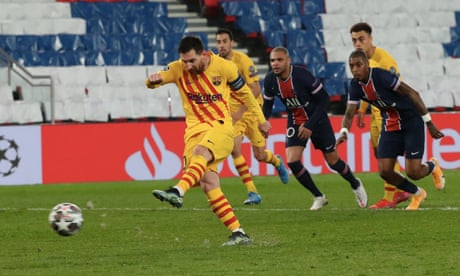PSG 1-1 Barcelona (agg: 5-2): Champions League – as it happened