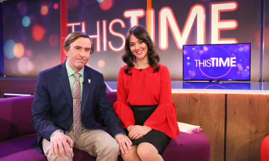 Alan with co-host Jennie Gresham (Susannah Fielding).