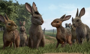 Fiver and Bigwig in Watership Down.