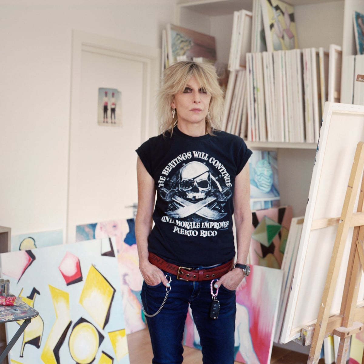 Chrissie Hynde 'It's hard work being alone. Paintings are an ...
