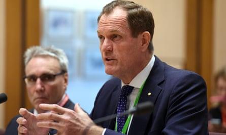 Australian Taxation Office Commissioner of Taxation Chris Jordan.