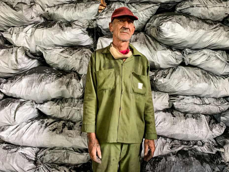 Coal burner Eduardo Alfonso, 58
