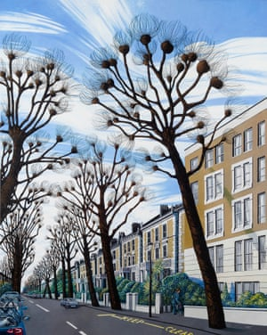 Cambridge Gardens – On Anywhere Street He slips Unnoticed … another in the Brothel Series, from 2013-14.