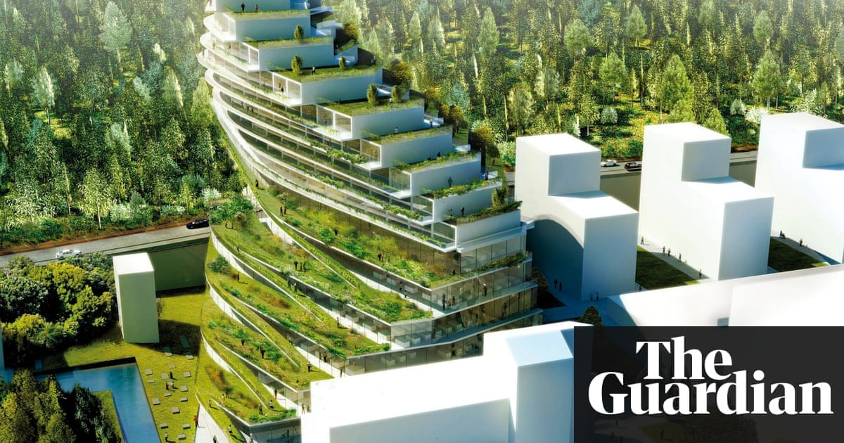 Architecture Firm 3XNs Design For A Residential School In Stockholm Includes Hanging Gardens Green Terraces