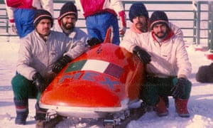Adrian, Roberto, Eduardo and Antonio Tames Perea had to fund their own sleds for the Olympics
