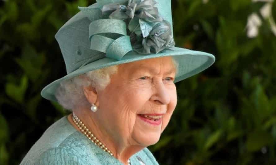 Queen Elizabeth marks her official birthday in Windsor in June 2020