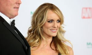 'On a cosmic mission': Stormy Daniels at the 2018 Adult Video News awards in Las Vegas, January 2018