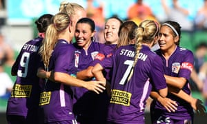 Perth W-League players