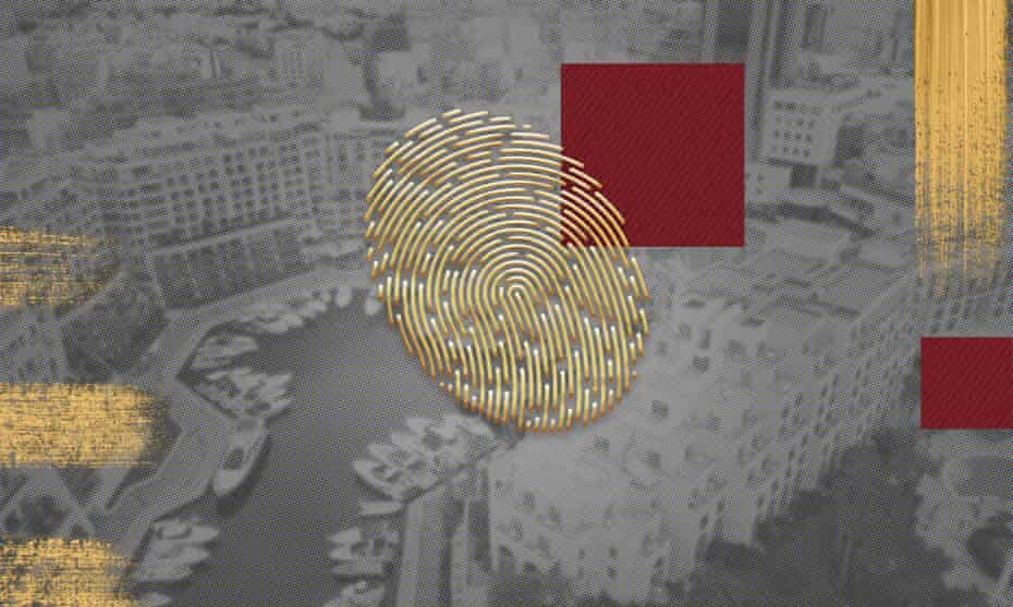 Gold thumbprint