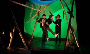 Rehearsals for The Flying Lovers of Vitebsk.