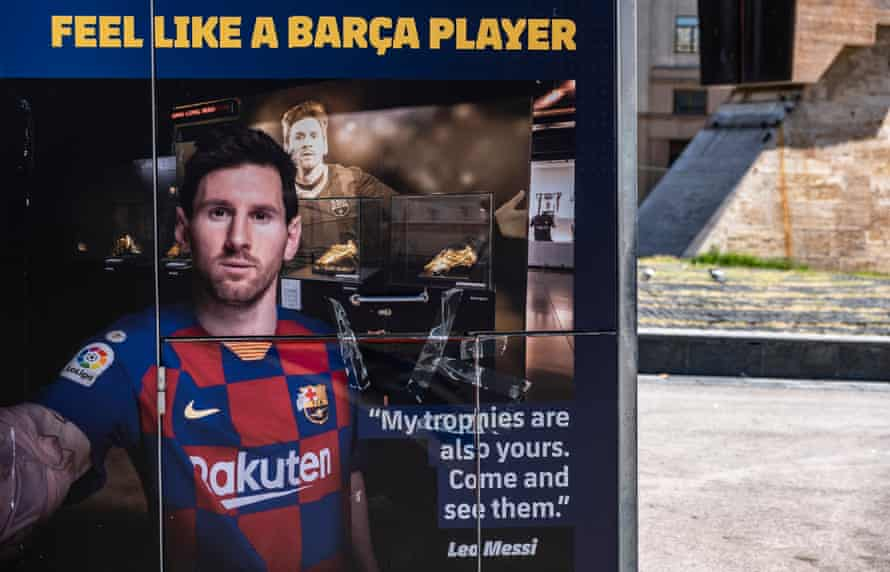 Lionel Messi's U-turn on his future was accompanied by a sadness about the current situation.