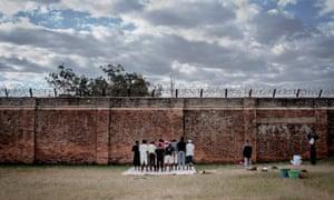 Prayers in Chichiri prison